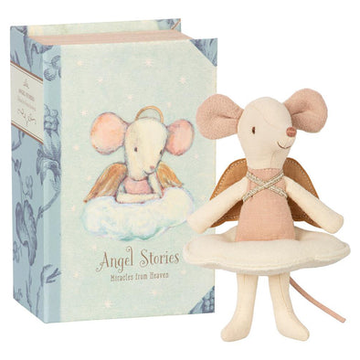 Angel Mouse In Box by Maileg