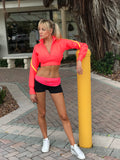 BABALU BRIGHT CROP LONG SLEEVE  - ONE SIZE