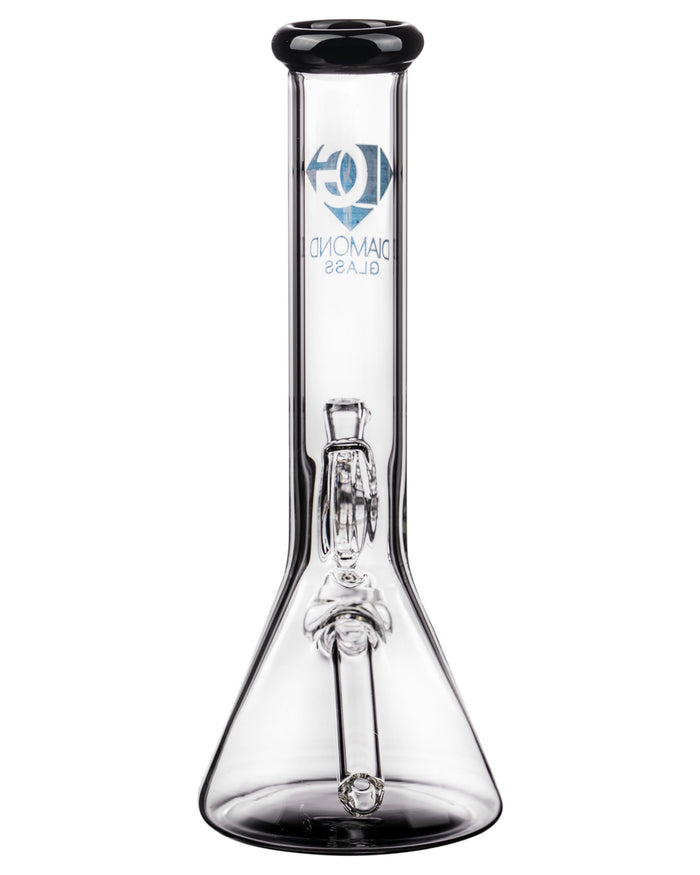 Diamond Glass Fixed Downstem Mini Beaker