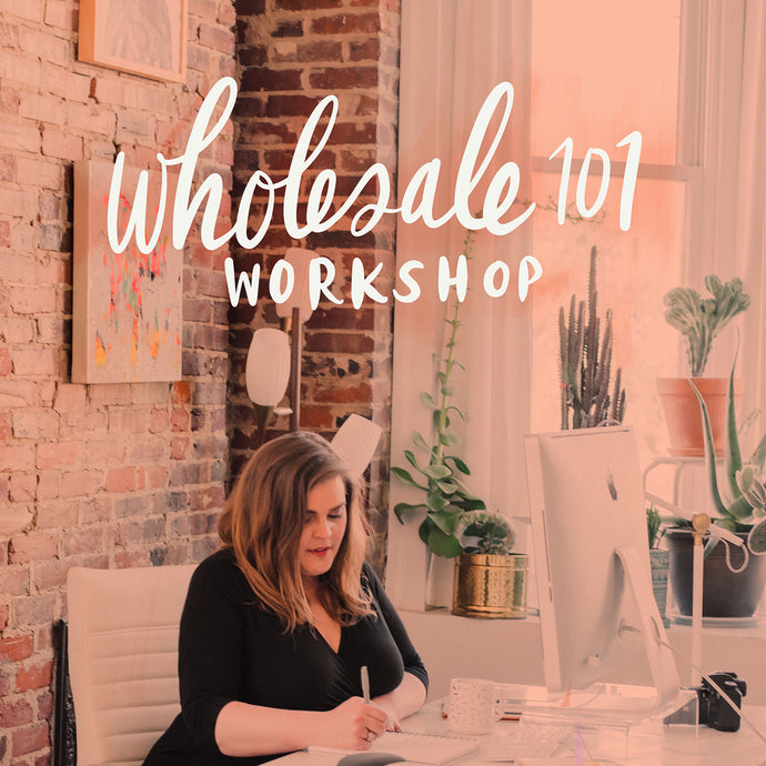 Wholesale 101 Workshop - kristenley.com - Kristen Ley - Thimblepress