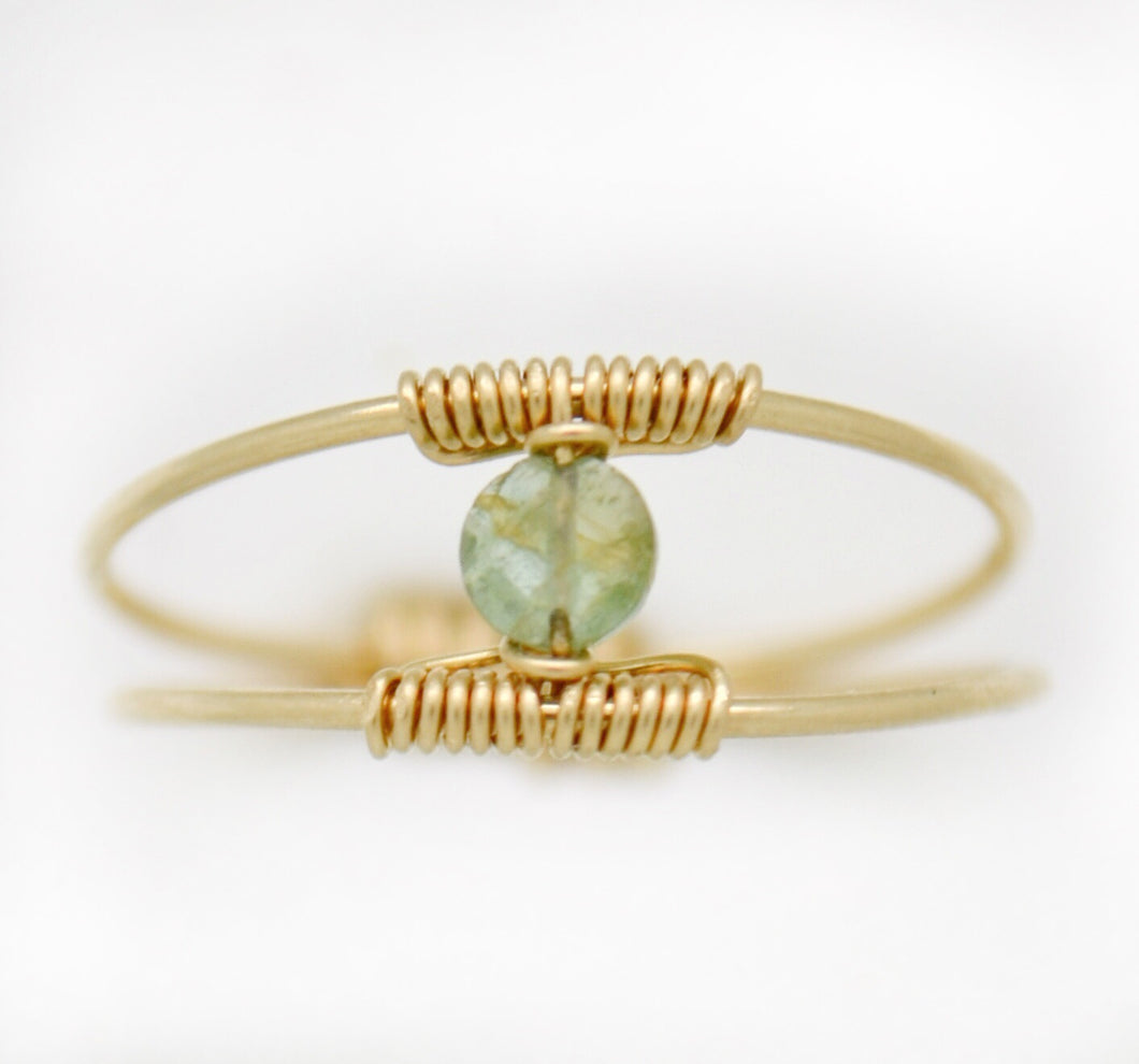 The Ocean Waters Tourmaline Ring