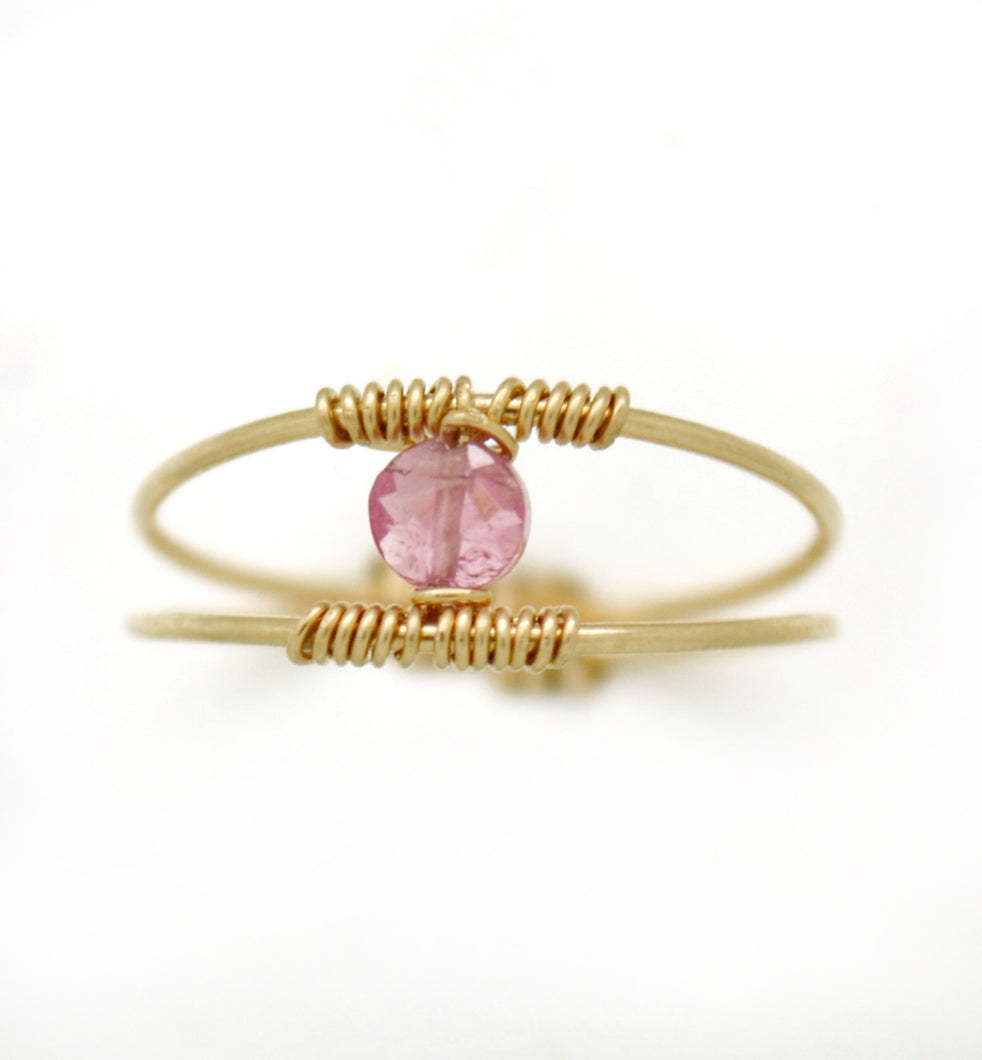 The Sunset Hues Tourmaline Ring