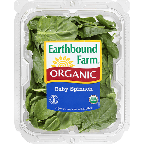 Earthbound Farm Organic Baby Spinach
