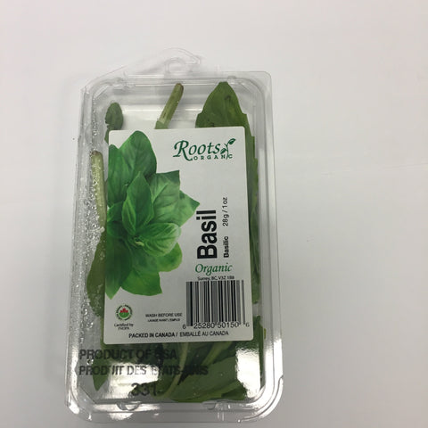Roots Basil Organic Pack
