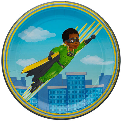 Andre African American Super Hero