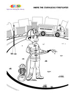 Andre Firefighter Coloring Page