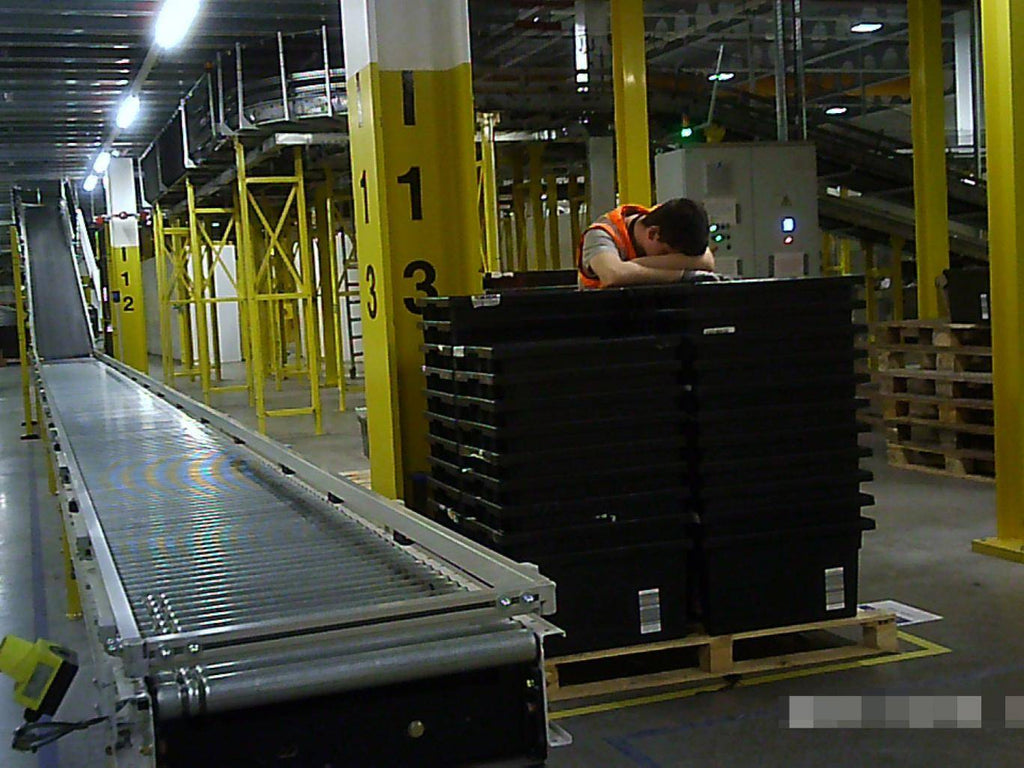 Amazon workers so exhausted by targets they fall asleep standing up