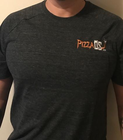 PIZZAOS.COM EMBROIDERED SHIRTS