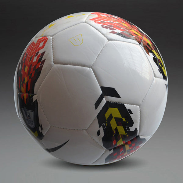 2015  High Quality A+++ Standard Soccer Ball PU Soccer Ball Training Balls Football Official Size 5 race dedicated