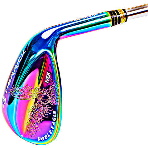 Golf Clubs wedges right handed steel Multi-color wedge 50/52/56/58/60 Three pcs to buy cheaper free shpping