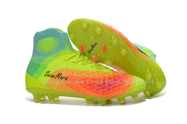 SexeMara Soccer Shoes Men FG AG Original Magista 2017 Football Boots Newest High Ankle Adults Cleats Professional Training Shoes