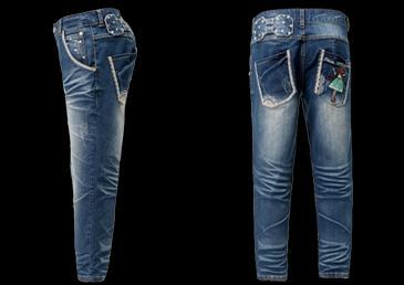 Slim Fit Straight capris Jeans