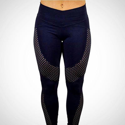 Ladies yarn Knitted Fitness Legging