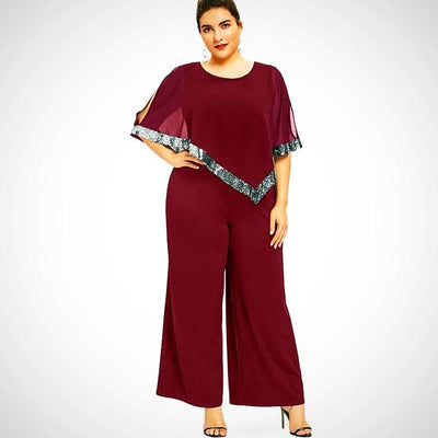 Ladies wide Leg Jumpsuit