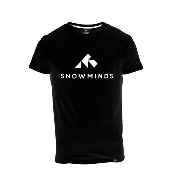 Snowminds Original Tee - Black