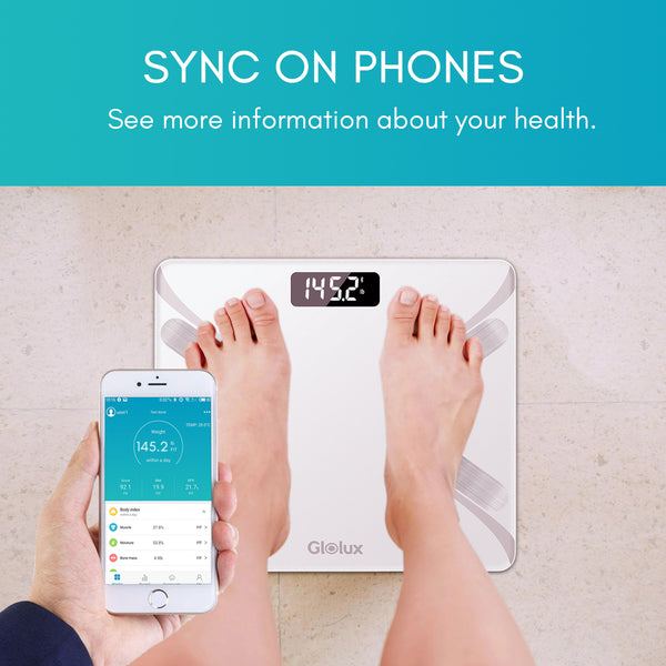 Smart Digital Weight Scale with Composition Analyzer App
