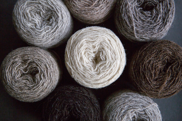 Uradale Yarns - Jumper Weight Organic Undyed Yarn