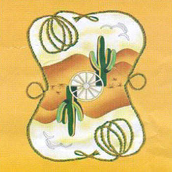 Fleece 50x60 Throw Blanket Cactus Rope 604