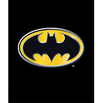 Blanket 60x80 Cartoon  Batman Emblem