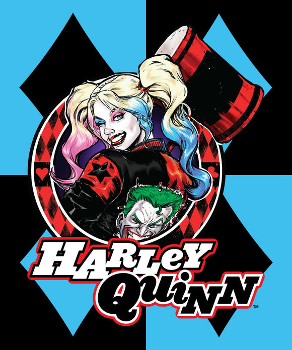 Blanket 60x80 Cartoon  Harley Quinn