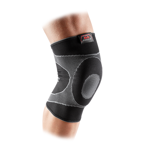 McDavid Knee Sleeve 4 Way Elastic with Gel Buttrest