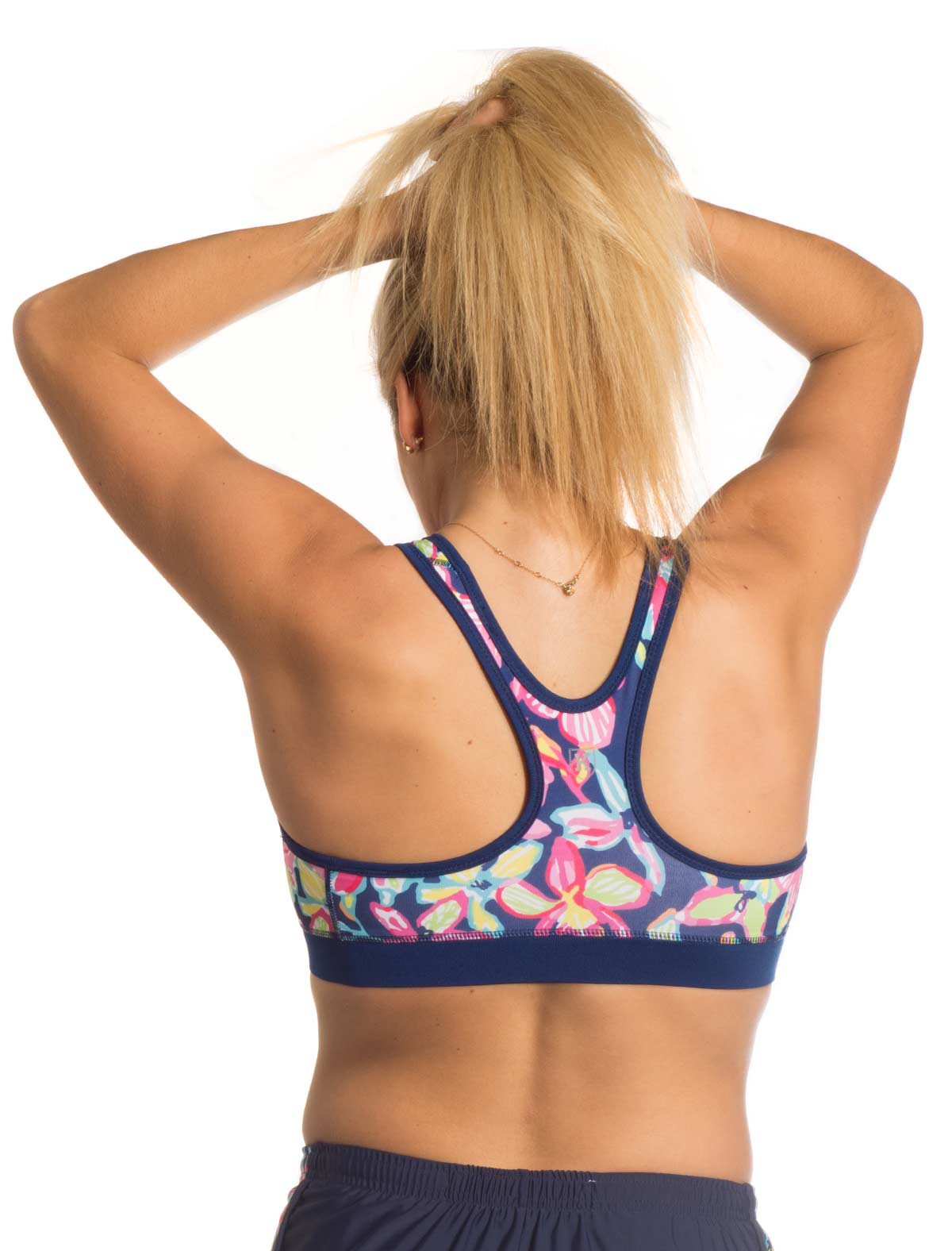 Orchid Lover Sports Bra