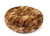Taupe Rabbit Bagel Bed