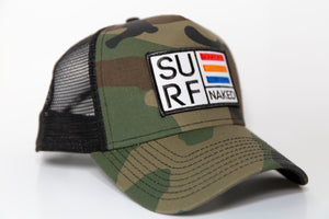SURF NAKED CAMO/BLACK HAT