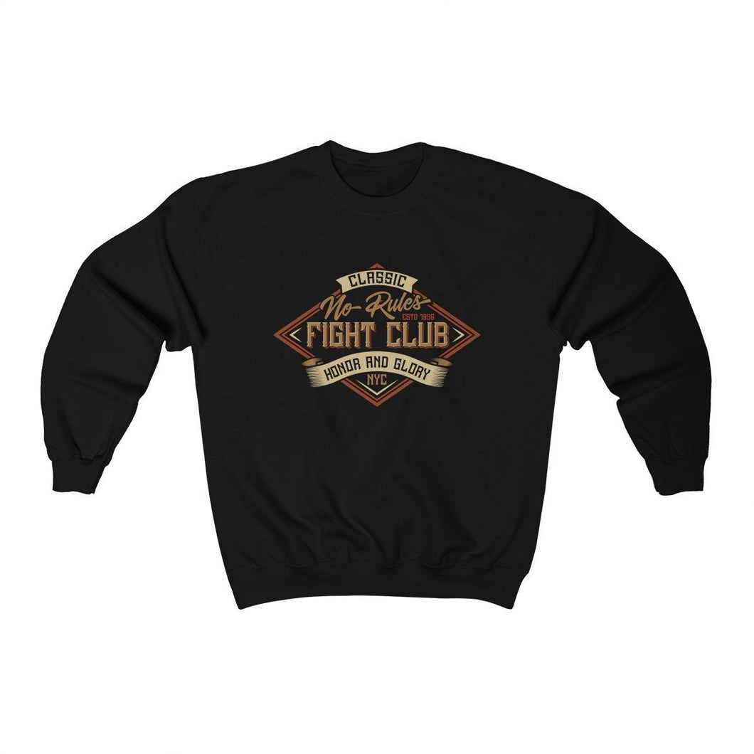 Men's Heavy Blend™ Crewneck Sweatshirt - Fight Club Sweatshirt Printify Black L