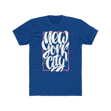 Men's Cotton Crew Tee – New York City T-Shirt Printify Solid Royal XS