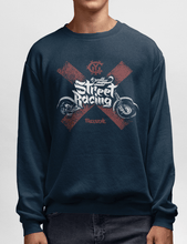 Men's Heavy Blend™ Crewneck Sweatshirt - Street Racing Sweatshirt Printify