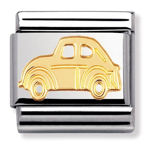 Nomination Classic Gold Charm - Car