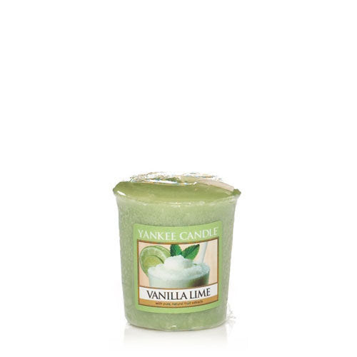 Yankee Candle Votive Candle Vanilla Lime