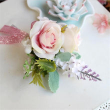Artificial wedding flower Best man Boutonnieres groom Groomsman Buttonholes father Corsage prom party suit accessory decoration
