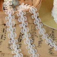 M0501 DIY handmade lace accessories cotton cloth lace cotton lace lace wave  0.5cm Hot sale