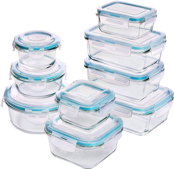 Utopia Kitchen Glass Food Storage Container Set - Shop The Fox