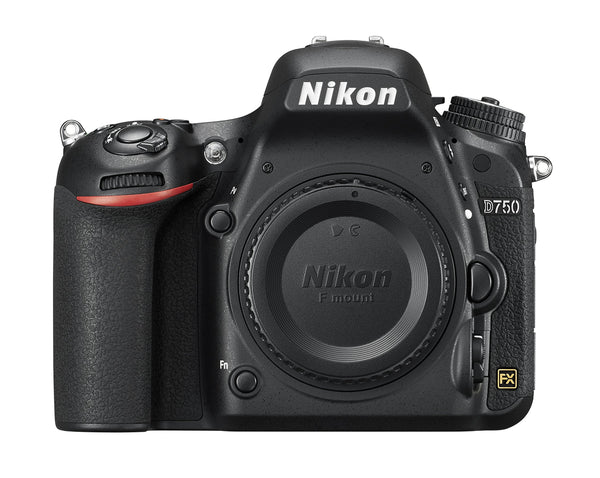 Nikon D750 FX-format Digital SLR Camera Body - Shop The Fox
