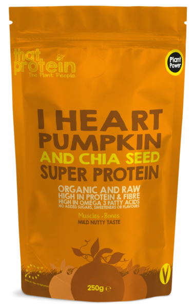 I Heart Pumpkin and Chia Seed Super Protein - Shop The Fox