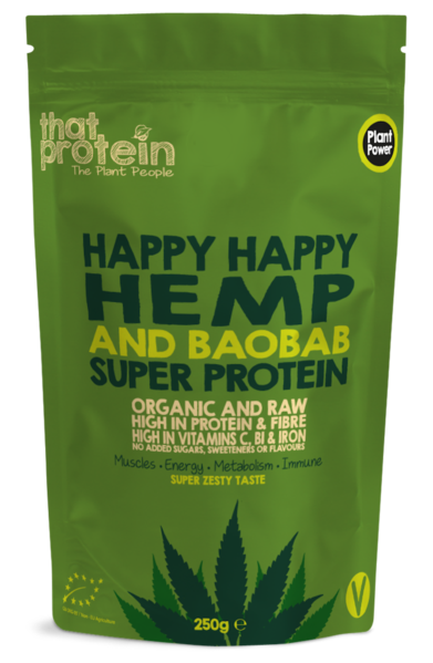 Happy Happy Hemp and Baobab Super Protein - Shop The Fox