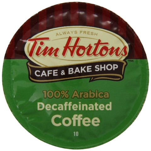 Tim Hortons Decaf Single Serve Coffee 24 Pack
