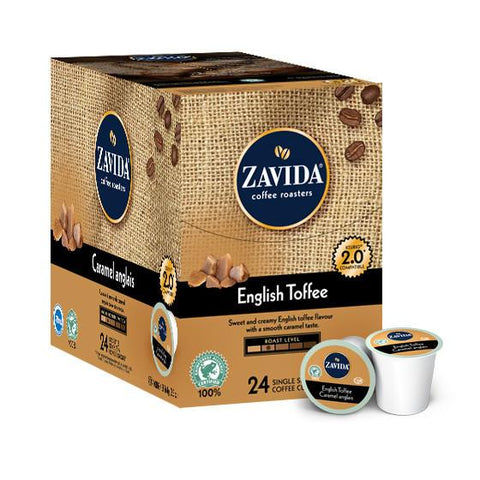 Zavida English Toffee Single Serve