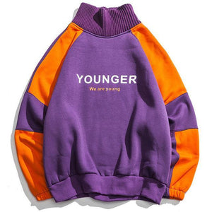 EXTAZ Violet / M YOUNGER - Hoodie
