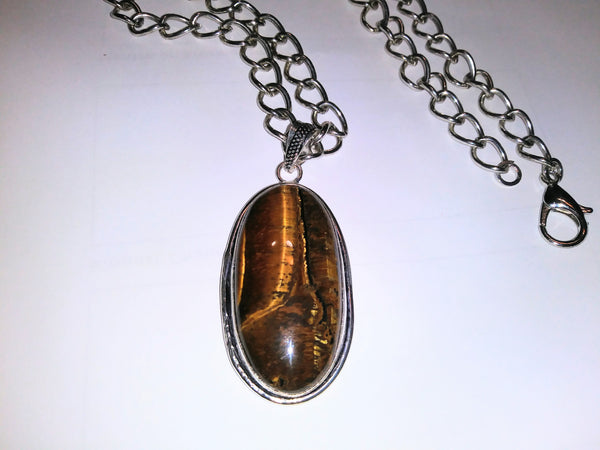 Tiger Eye Necklace - WATERBURY JEWELS