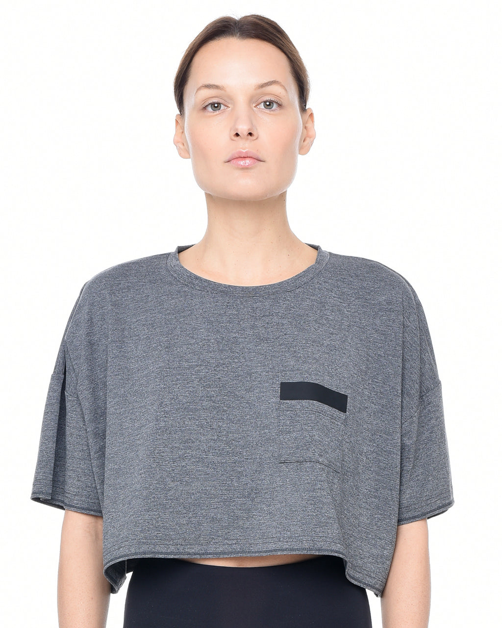Cropped Montage Top