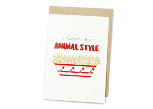 Animal Style Card