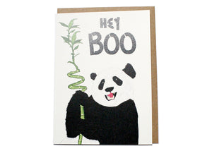 Hey Boo Card
