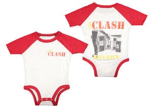 The Clash Hits Back Baby Onesie