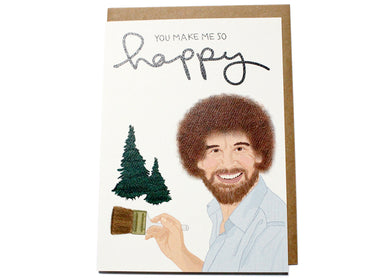 Happy Little Trees Card