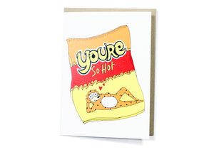 You're So Hot Card