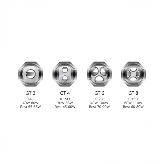 Vaporesso GT Coil Heads for NRG/NRG Mini 3pk